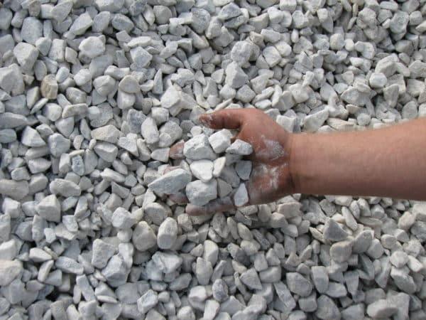 """White Stone 3/4"""" 1"""