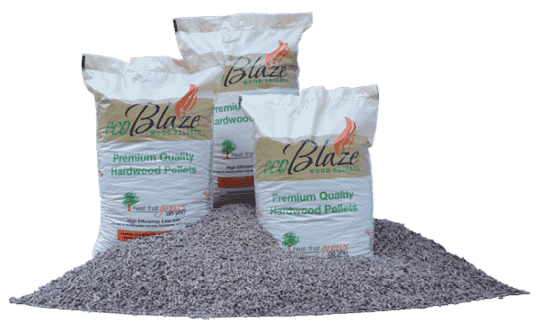 EcoBlaze Wood Pellets 1