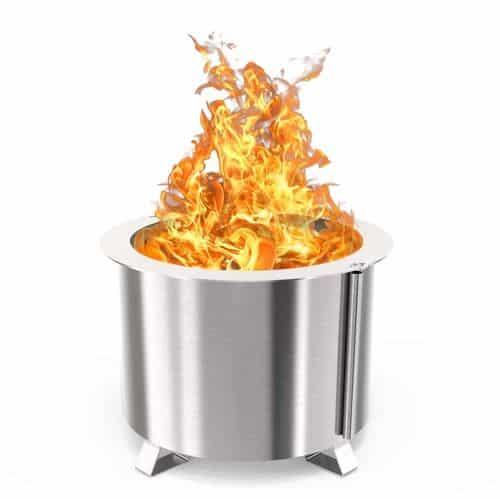 Breeo smokeless fire pit