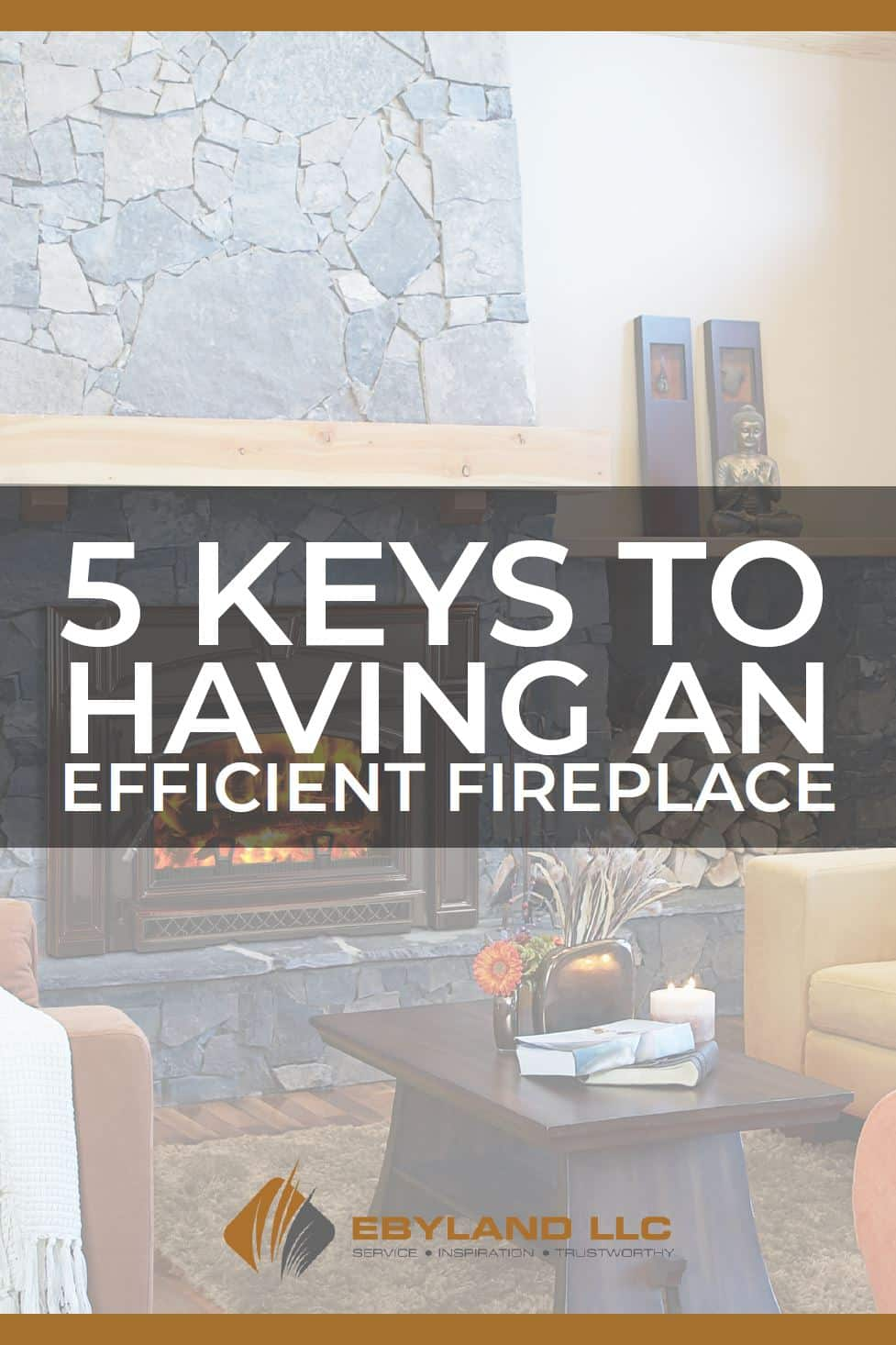 5 keys to an efficient fireplace e-book cover