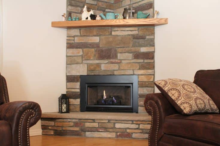 Gas Fireplace in Midland, MD