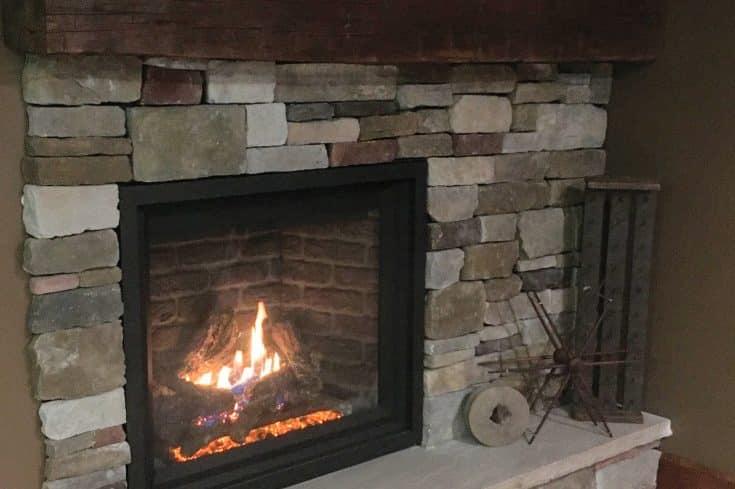 Gas Fireplace in Frostburg, MD