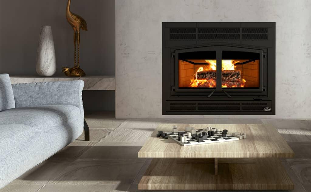 Horizon Wood Fireplace by Osburn 1